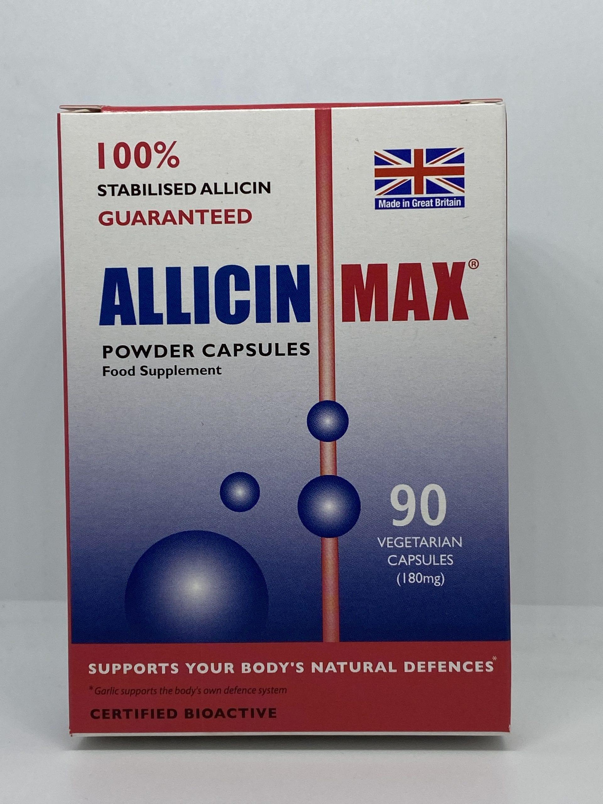 Allicin Max (90 Vegetarian Capsules)